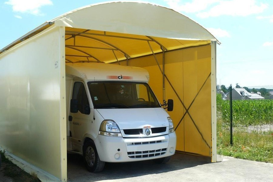 Agr able abri camping car en kit 10 abri camping car alu carport alu camping car en kit - Carport camping car ...