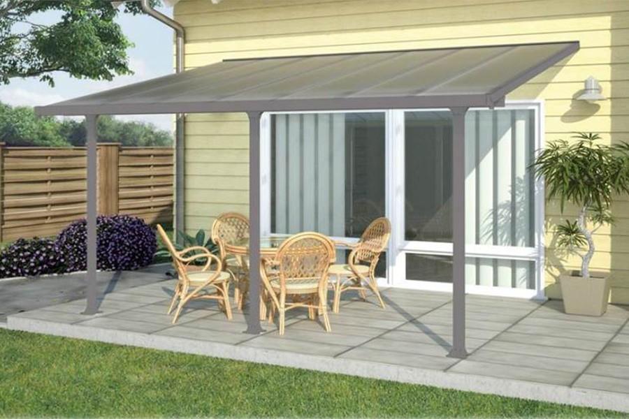 Toile Pour Auvent Terrasse Great Affordable Abri Jardin Toile