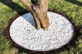 Entourage arbre rond acier 80cm