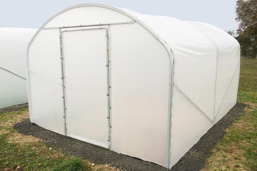 serre tunnel largeur 3 m saumuroise - jardin couvert