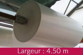 Déstock bâche diffusante 200 µ larg.4.50 m