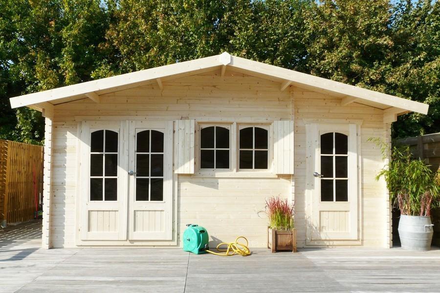 Abri ROSTOCK 40 mm, 19.6 m² - Jardin Couvert