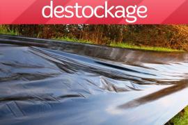 Déstock Paillage Haie noir 80 µ