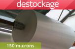 Déstock bâche incolore 150 microns