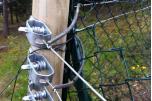 Lot de 10 tendeurs fil de fer