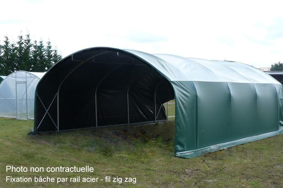 Multi abri largeur 6 m eco jardin couvert for Abri de jardin occasion belgique