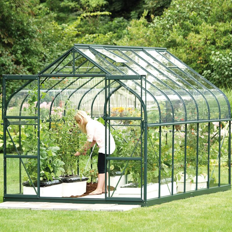 Serre de jardin verte Diana