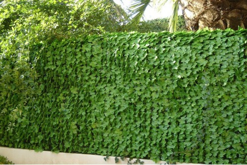 Haie artificielle feuilles...