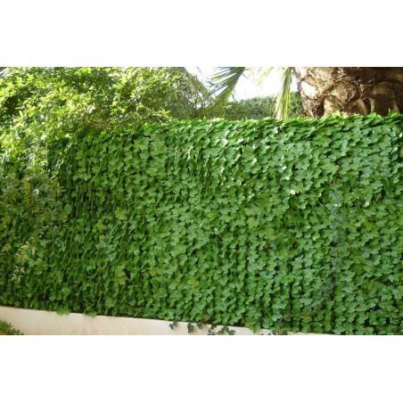 Haie artificielle feuilles de lierre