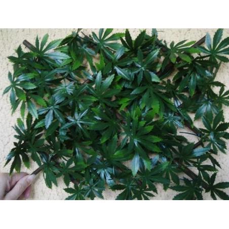 Feuillage artificiel Treillis vigne vierge verte