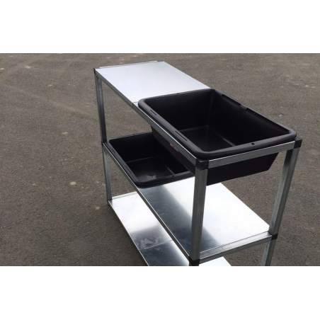 Table de rempotage modulable