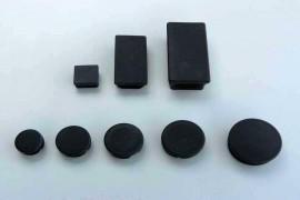 Bouchon Obturateur à Ailette PVC Noir
