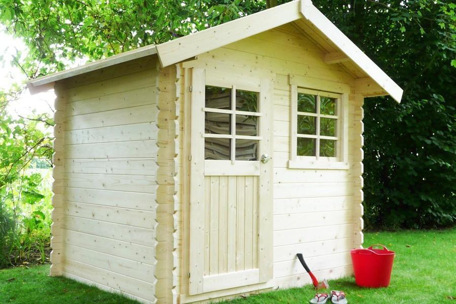 abri de jardin 6 5 m2. Black Bedroom Furniture Sets. Home Design Ideas