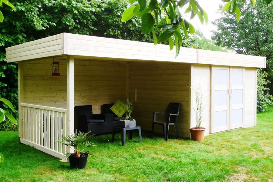 best abri de jardin avec auvent gallery design trends. Black Bedroom Furniture Sets. Home Design Ideas