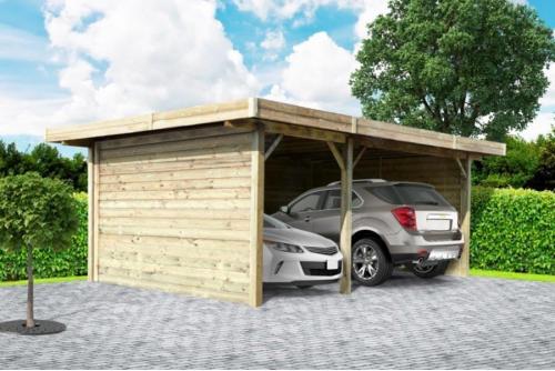 Carport double 5 m x 7 m
