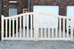 Portail bois Brugge