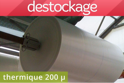Déstock bâche thermique 200...