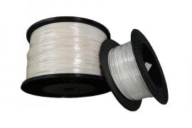 Fil PVC 2.6 mm blanc