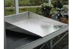 Bac de rempotage aluminium pour étagère 0,40 m x 0,60 m