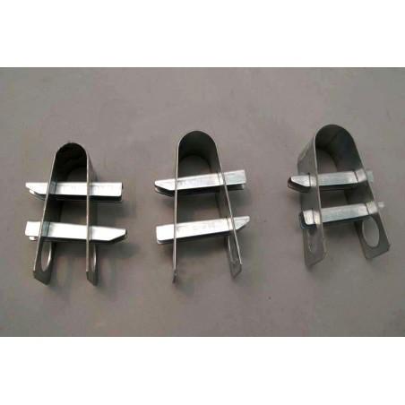 Collier 2 clavettes