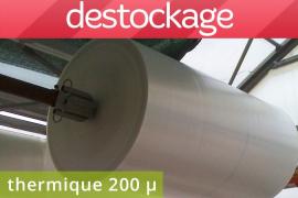 Film thermique 200µ