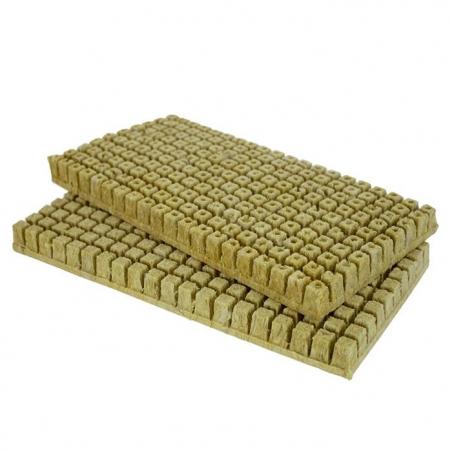 Lot de 280 bouchons de laine de roche 25x25x40 mm