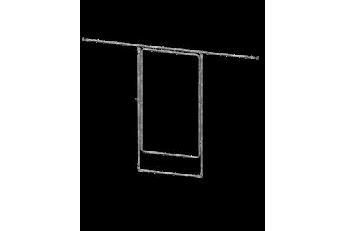 Porte adaptable pour Serre...