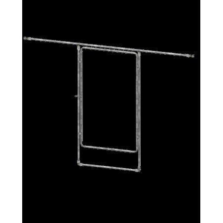 Porte adaptable pour Serre (Autres marques) - Sur Arceau Ø32 ou Ø40