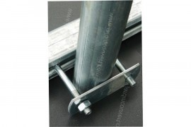 Platine - Contre plaque acier