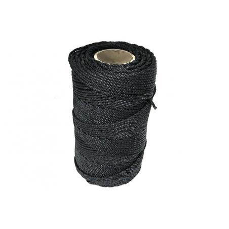 Ficelle Noire maraîchère 3 brins - 5 mm