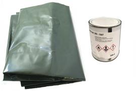 Kit réparation de Bâche Elevage Verte/blanche