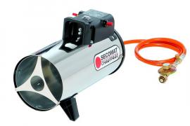 Chauffage air pulsé gaz allumage manuel