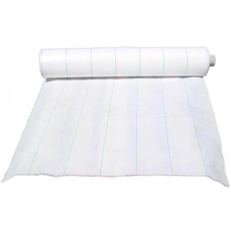 Toile de paillage blanche 100 gr/m²