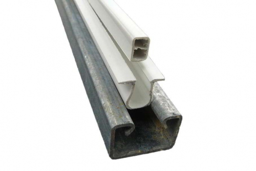 Barre à clips équipée 2.50 m