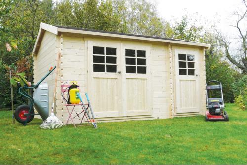 Abri PASSAGE 28 mm, 10.8 m²