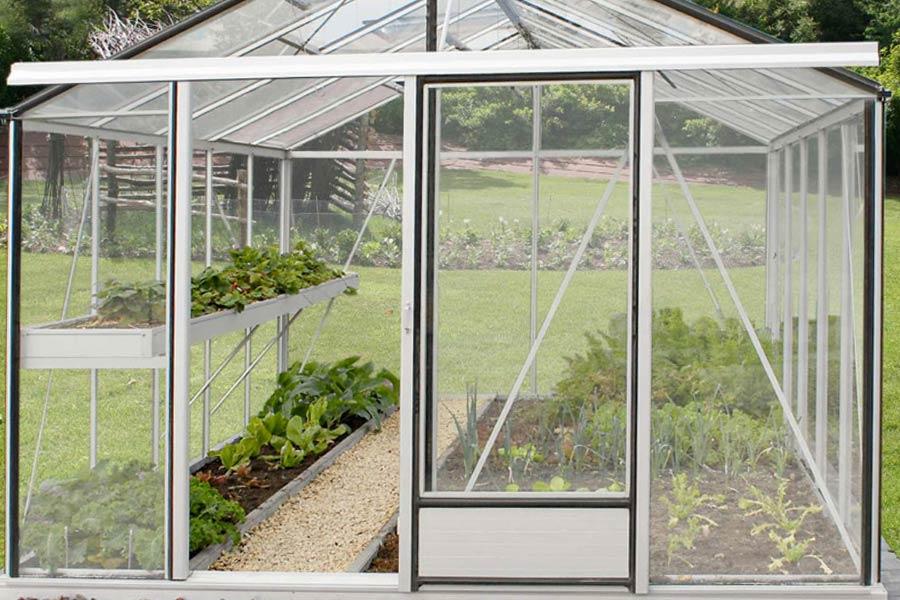 Serre de jardin Essentia aluminium