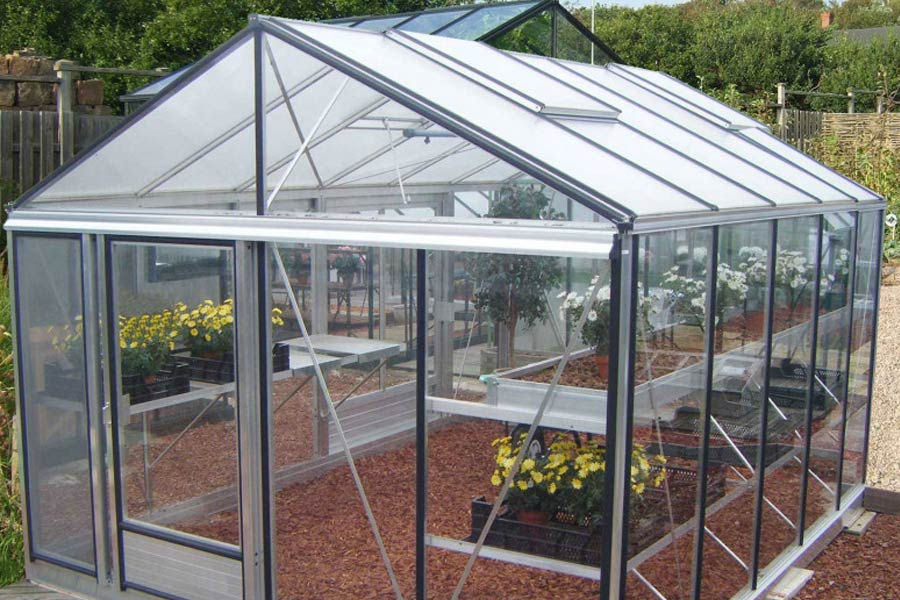 Serre de jardin Luxia aluminium