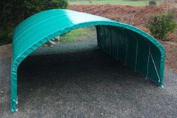 Tunnels de stockage agricole